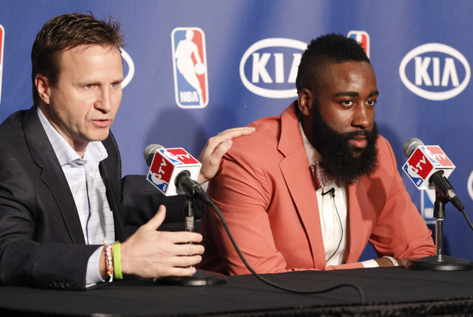 Image result for Harden was named NBA sixth man of the year