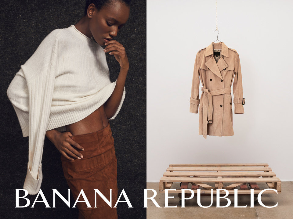 Photo - Banana Republic's new ad campaign celebrating its 40 anniversary.