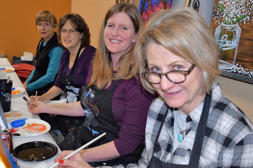 Photo - Millicent Gillogly, Kelly Garrett, Pam Williams and Nancy Shook. PHOTO PROVIDED