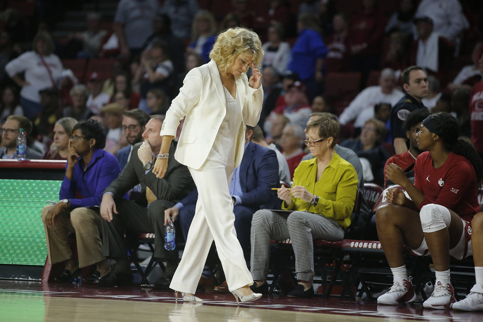 Photo -  Oklahoma coach Sherri Coale is in the midst of her worst season since the early days of her tenure leading the Sooners. Heading in Saturday's game against Texas, OU is 5-14 and in serious jeopardy of missing the NCAA Tournament for the first time in 19 years. [PHOTO BY BRYAN TERRY, THE OKLAHOMAN]