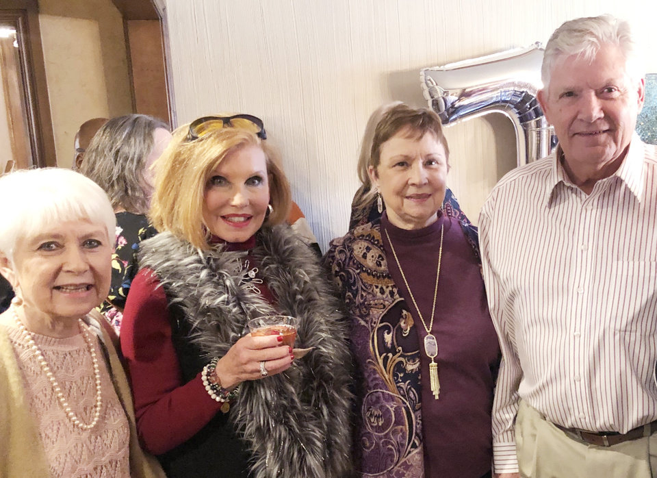 Photo - Paula Wolfe, Jerre Blythe, Mary Lynda Diebel, Bill Shawn. PHOTO PROVIDED