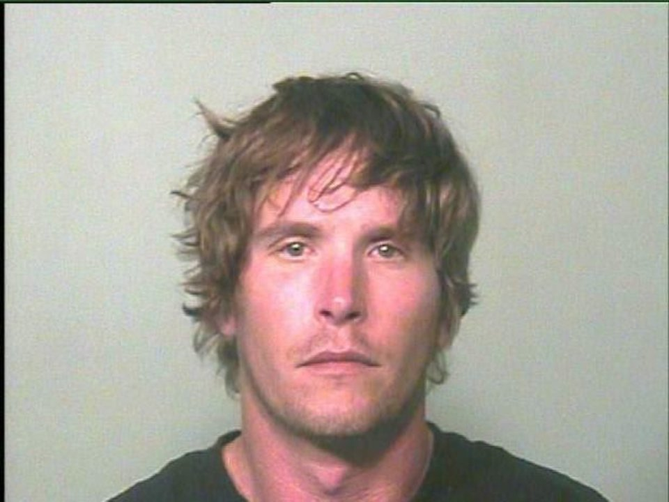 Photo - Bo Jack Baxter Baxter, 30, was arrested on a complaint of trespassing after parachuting from the Devon tower in April.