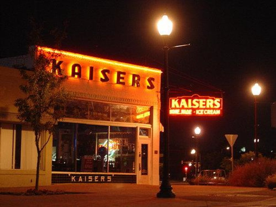 Photo -  The Kaiser's brand returns to Oklahoma City in the historic building that bears its name.