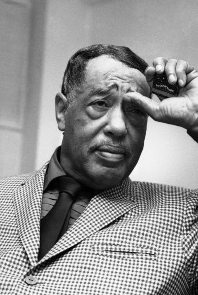 Photo -  Duke Ellington in 1971. [AP File Photo]