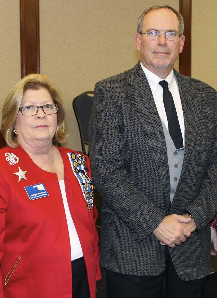 Photo - Carolyn Rawlings and Grant Gower. PHOTO PROVIDED