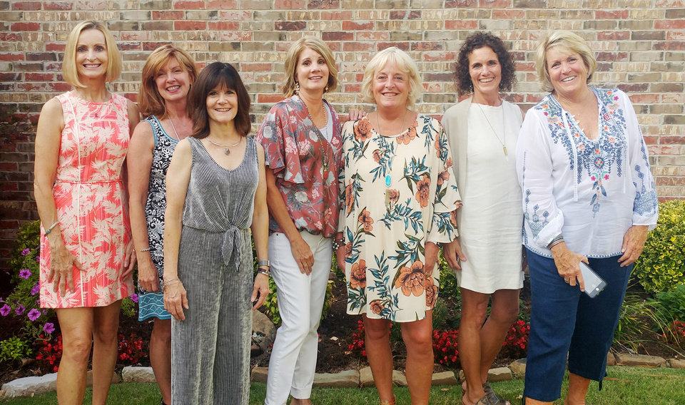 Photo - Penny Mills Voss, Robin Gandy Curlin, Dana Dever Carrow, Patti Gatewood Bollinger, Jennifer Noblet Evenson, Brooke West and Sarah Hale Thompson. PROVIDED PHOTO