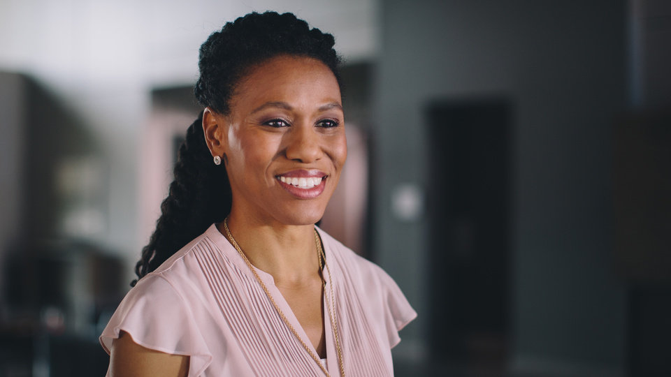 Photo -  Priscilla Shirer, speaker, author and founder of Go Beyond Ministries, in a scene from the new movie