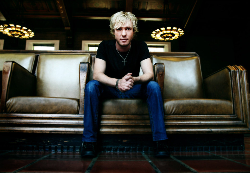 Photo - In this 2010 publicity image released by Roadrunner Records, singer Kenny Wayne Shepherd is shown. (AP Photo/Roadrunner Records, Myriam Santos) ORG XMIT: NYET397