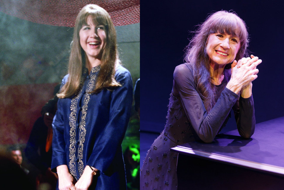 Photo -  Judith Durham then and now. [photo provided]