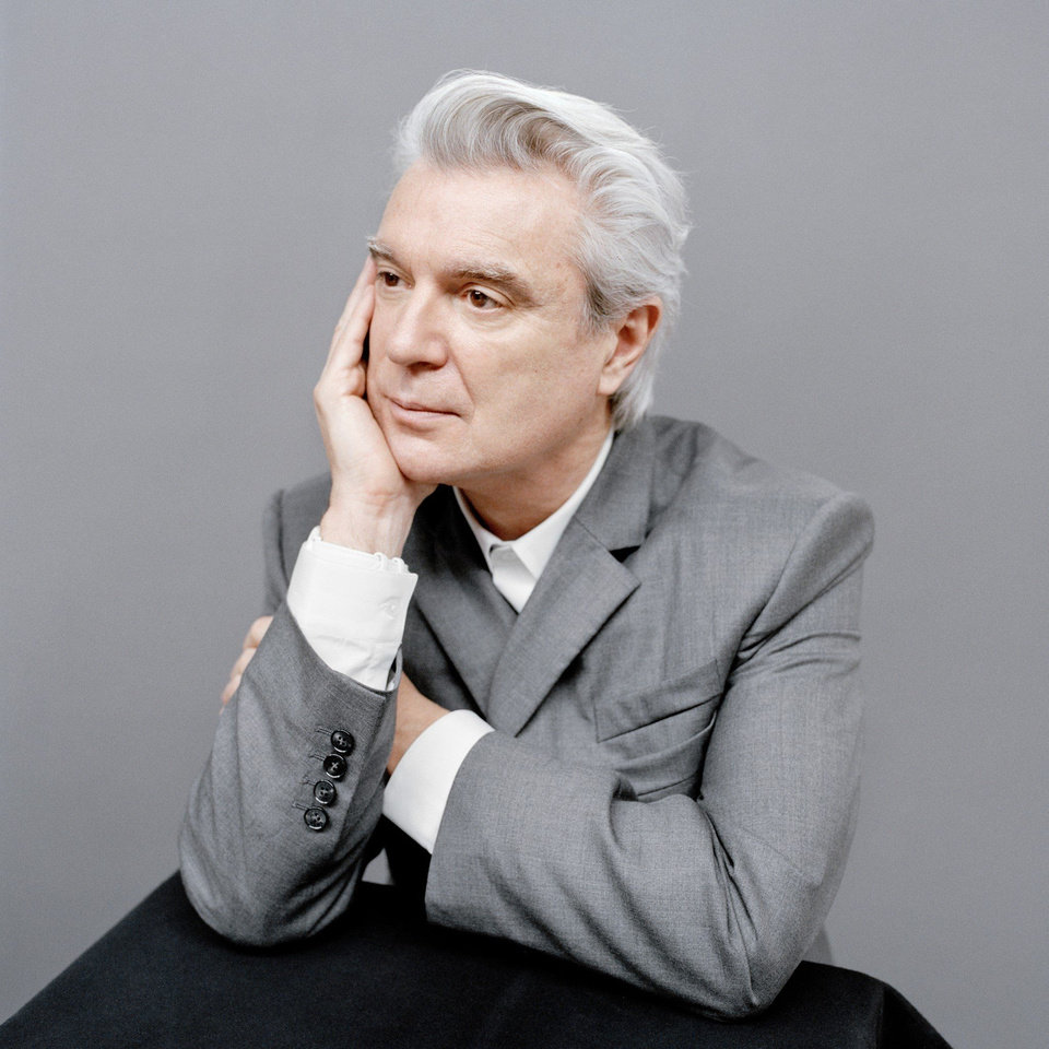Photo - David Byrne. [Photo provided]