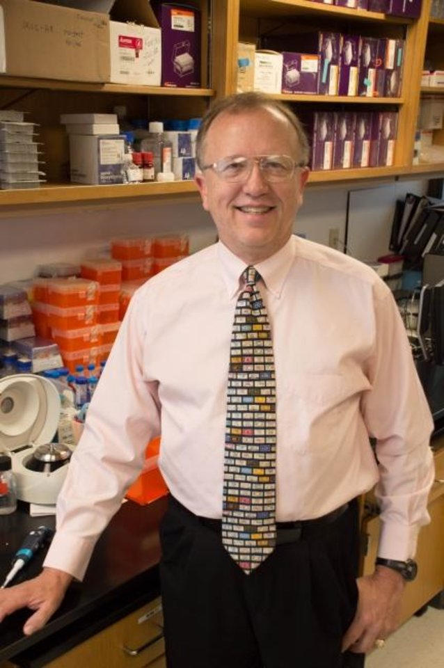 Photo -  Oklahoma Medical Research Foundation immunologist Hal Scofield, M.D.