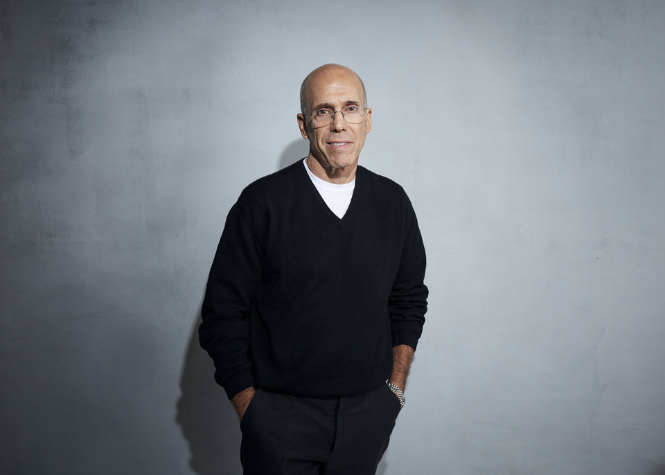 Photo -  FILE - In this Jan. 24, 2020 file photo, Jeffrey Katzenberg poses for a portrait to promote