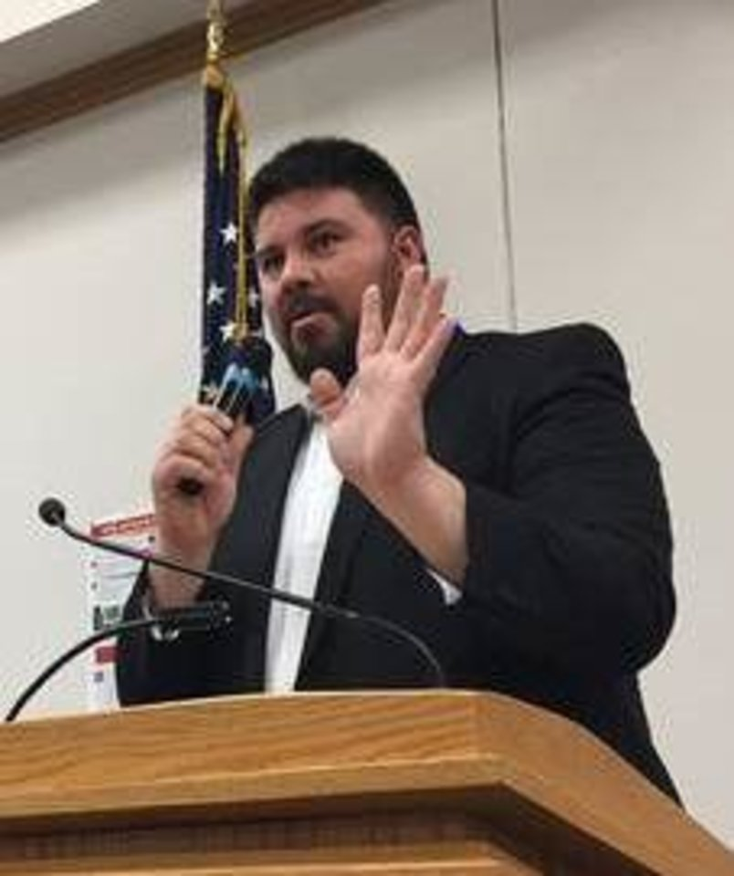 Photo -  Sen. Ralph Shortey