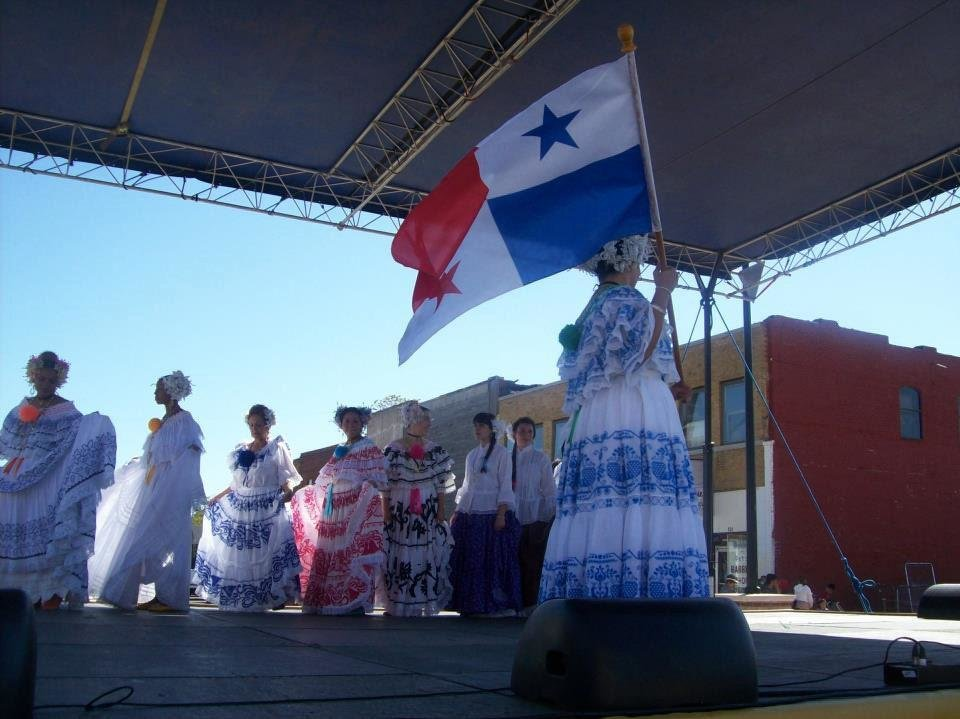 Photo - Panamanians in Oklahoma celebrate Panama's Independence Day last year. Photo provided.