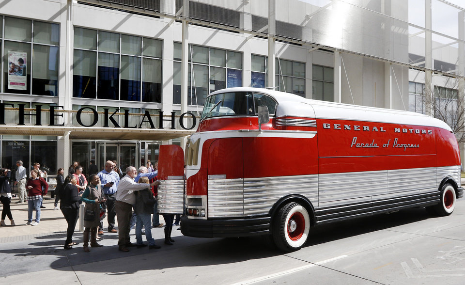 OKC residents catch a glimpse of history as Futurliner rolls through