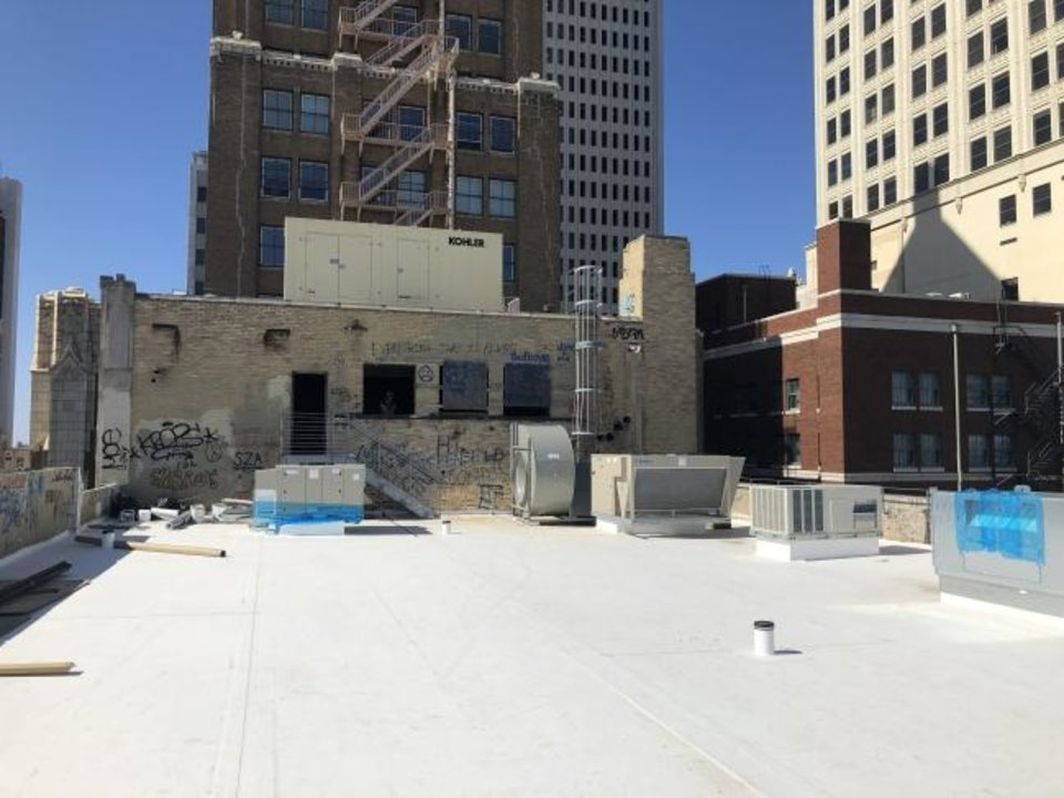 Photo -  C-PACE dollars helped pay for upgrades made to HVAC systems as part of the Tulsa Club's renovation. [PROVIDED BY THE ROSS GROUP]