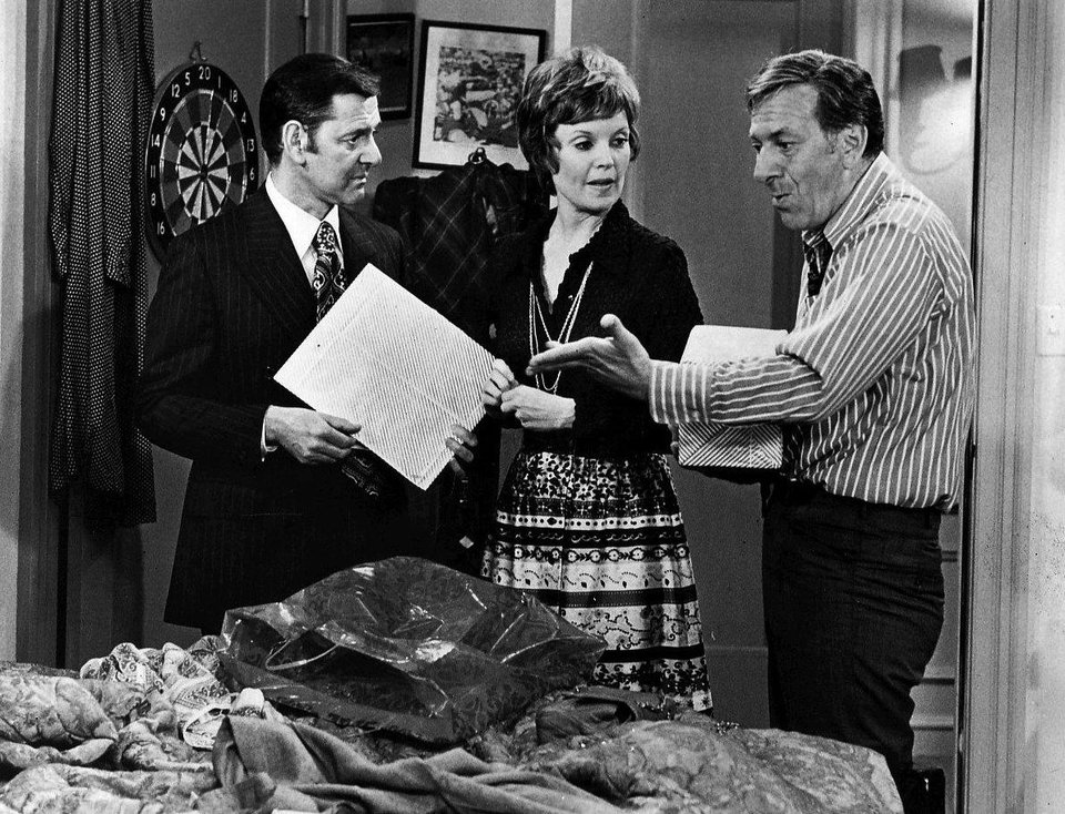 Photo -  Tony Randall, Marlyn Mason, and Jack Klugman in an episode of