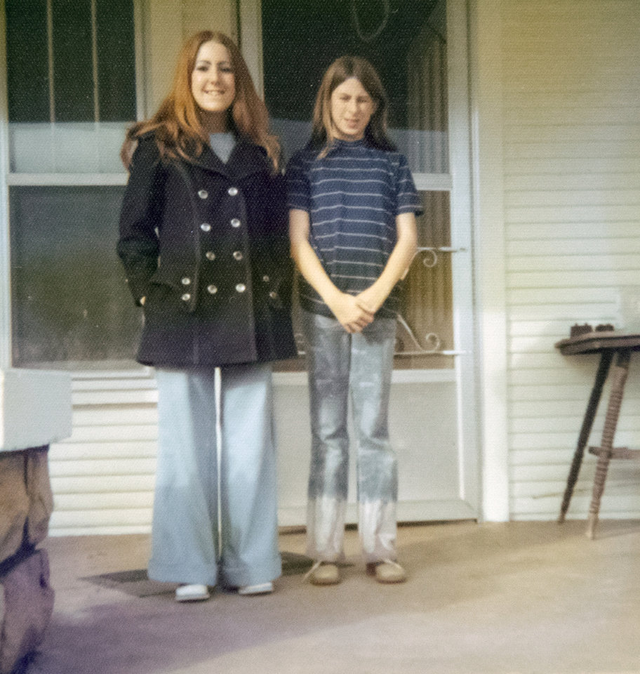 Photo -  Debra Wyatt, left, and her youngest sister, Linda Cantrell. [PROVIDED]