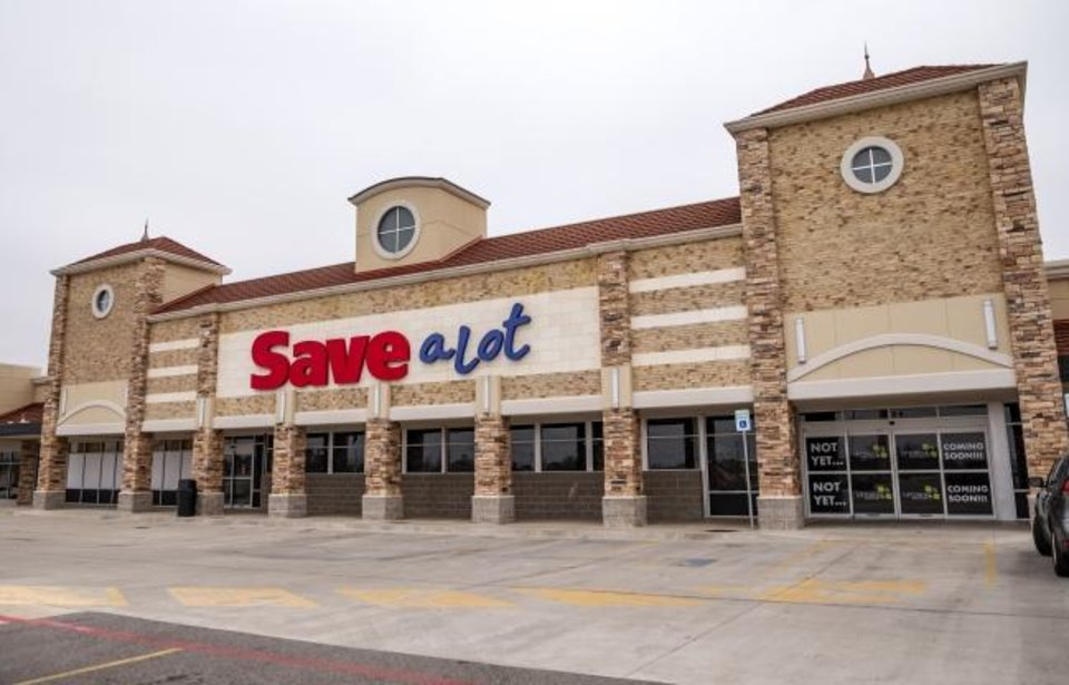 Photo -  The former Save-A-Lot grocery store located at 1124 NE 36 is planned to become an Uptown Grocery store, but there is no timeline on the change.    [Chris Landsberger/The Oklahoman]