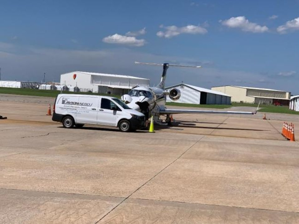Photo -  Avion Aero Holdings LLC is in Bethany, at Wiley Post Airport. Its mobile repair unit is designed for for quick and easy access to the airport runway.