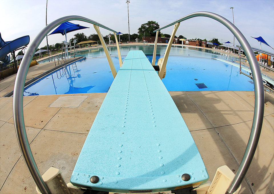 Pools With Slides And Diving Boards