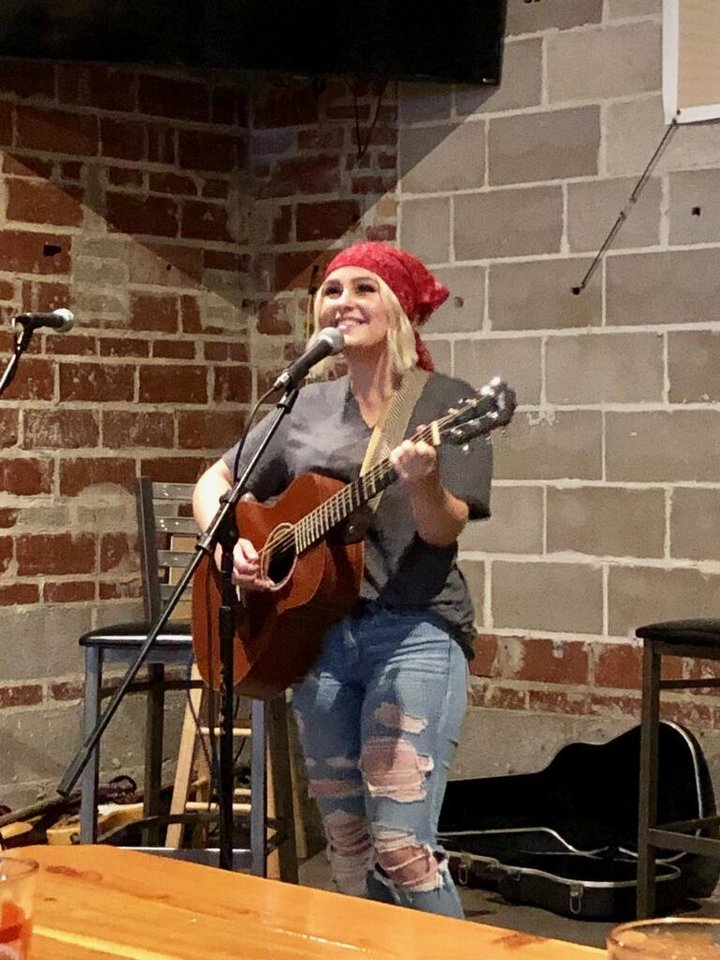 Photo - Chloe-Beth Campbell received the People's Choice Award at the second annual Jimmy LaFave Songwriting Contest. [Photo provided]