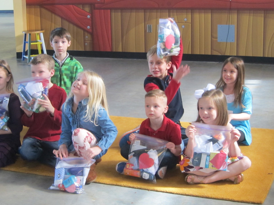 Edmond, OK, youths have blessings in the bag - Article Photos
