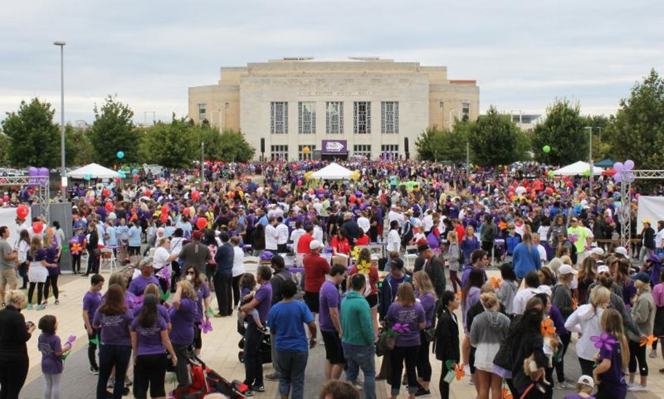 Photo - More than 10,000 participants are expected at this year's 2019 Walk to End Alzheimer's – Oklahoma City. [Photo provided]