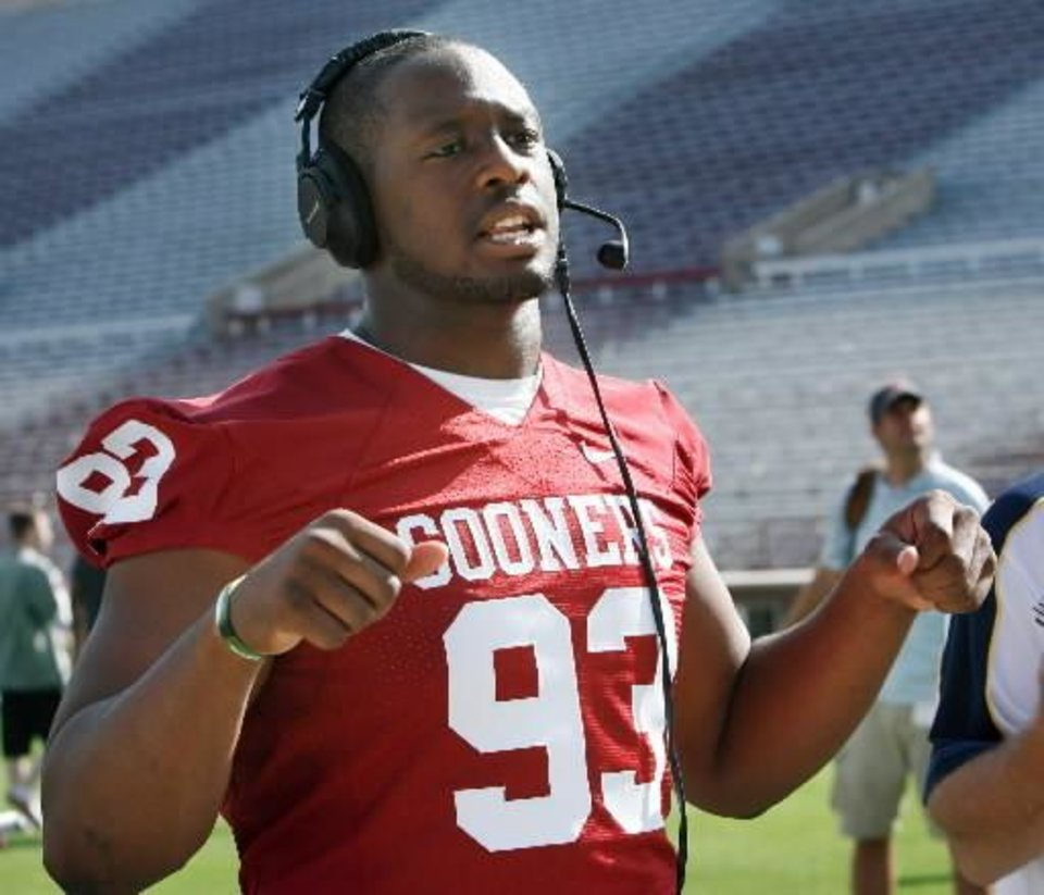 OU football Gerald McCoy pressed on after tragedy
