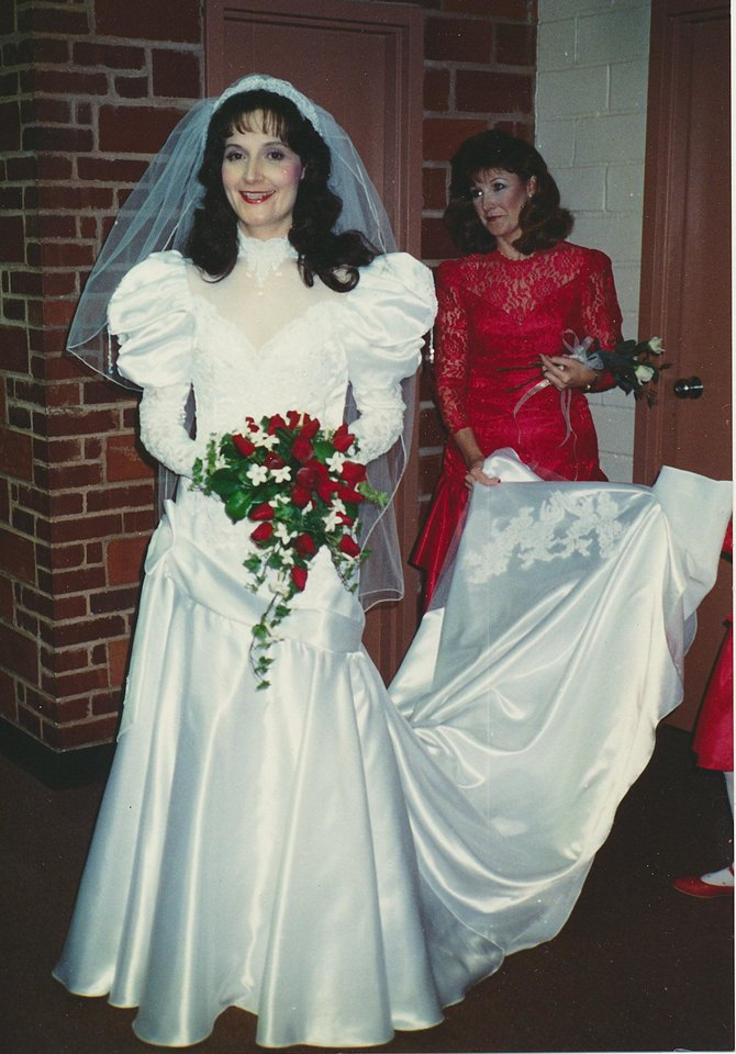 Blast from the past: Wedding dress trends coming back