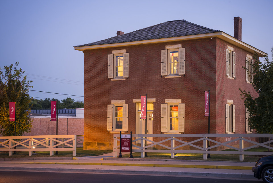 Photo -  The 1844 Cherokee National Supreme Court building, now a museum, in Tahlequah. [PHOTO PROVIDED BY CHEROKEE NATION]