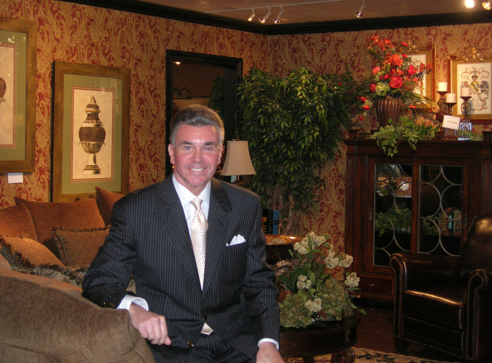 Bob Mills At His Furniture Store In Oklahoma City, Okla. Nov. 15, 2007. BY  Steve Lackmeyer, THE OKLAHOMAN ORG XMIT: KOD ...