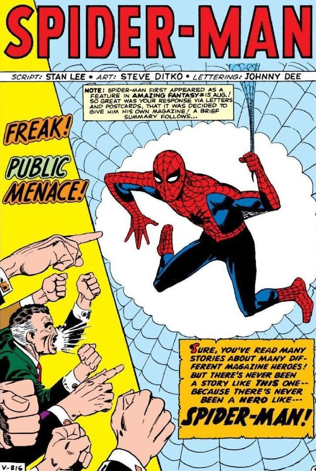 Photo - Does Spider-Man's classic costume rank as one of our panel's best? [Marvel Comics]