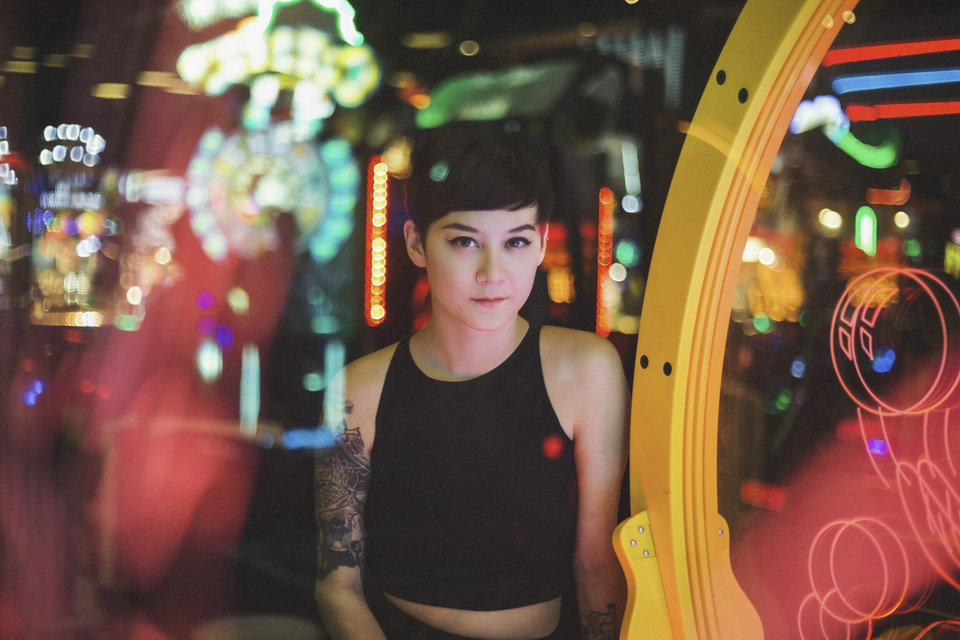 Photo -  Michelle Zauner, of Japanese Breakfast, enlisted help from co-producer Craig Hendrix (who also co-produced Little Big League's debut) and Jorge Elbrecht (Ariel Pink, Tamaryn) to mix her sophomore effort,
