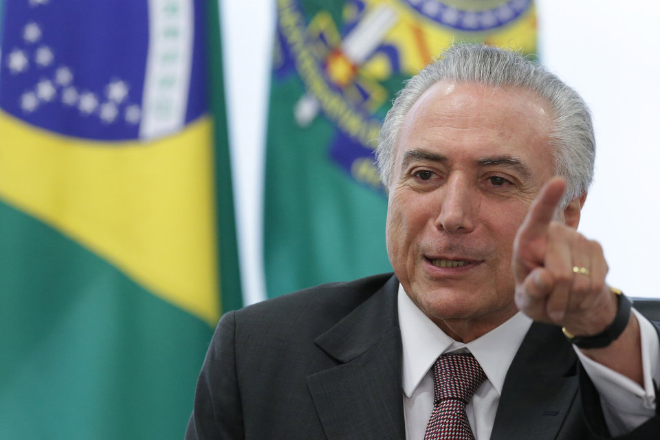 Image result for temer, brazil, photos