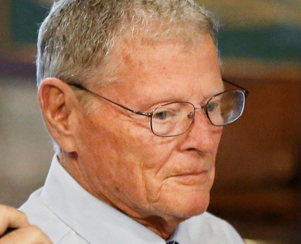 Photo -  Sen. Jim Inhofe, R-Tulsa
