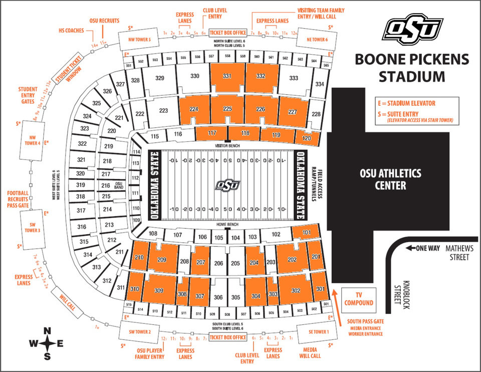 Sections Filled With Orange At Boone Pickens Stadium Had Seats Widened To 20 Inches This Summer Displacing Some Season Ticket Holders