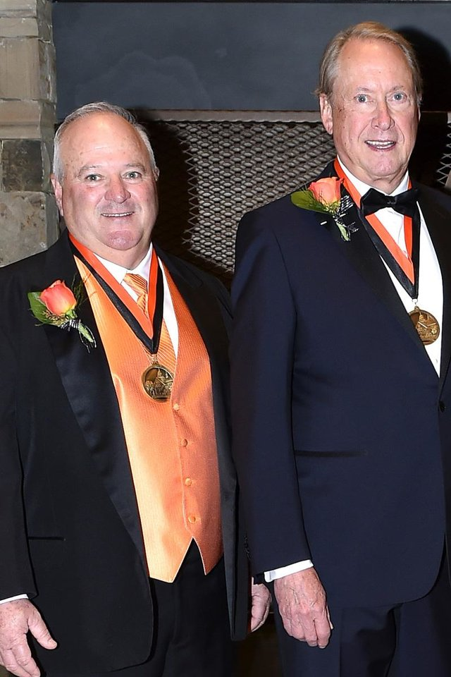 Photo -  Dr. Barry Pollard, The Hon. Terence C. Kern. PHOTO PROVIDED