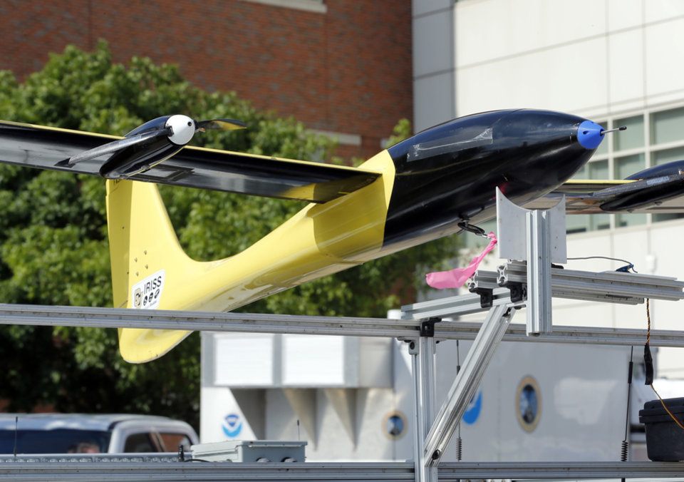 Weather researchers show Unmanned Aircraft Systems at