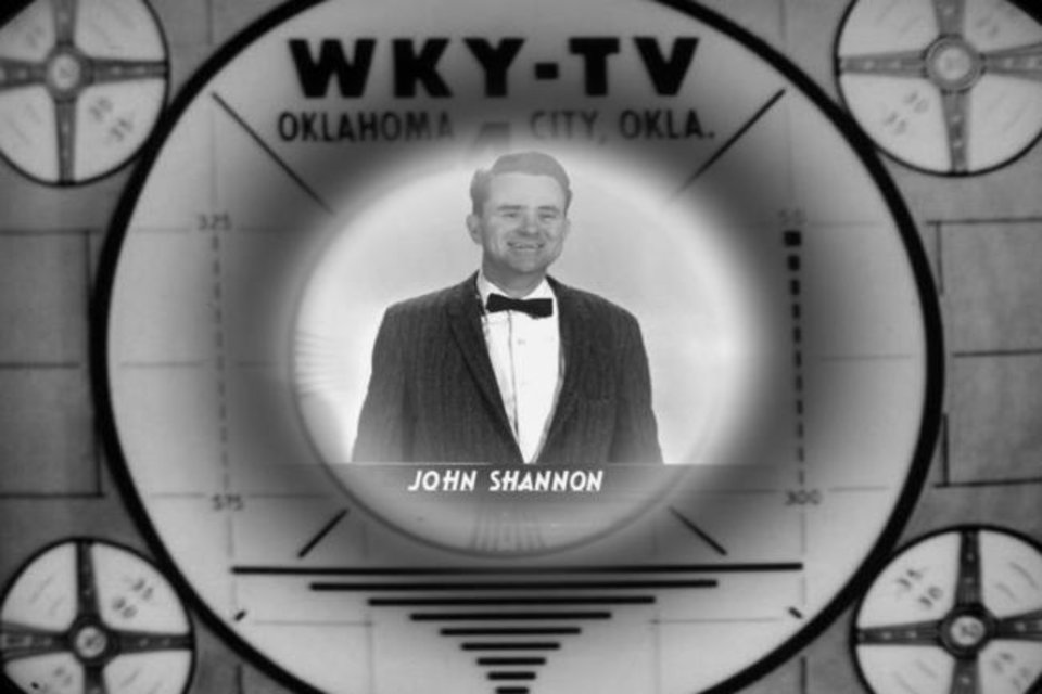 Photo -  Johnny Shannon spent almost four decades shooting video for WKY, including 25 years of Oklahoma football. [KFOR archive photo]