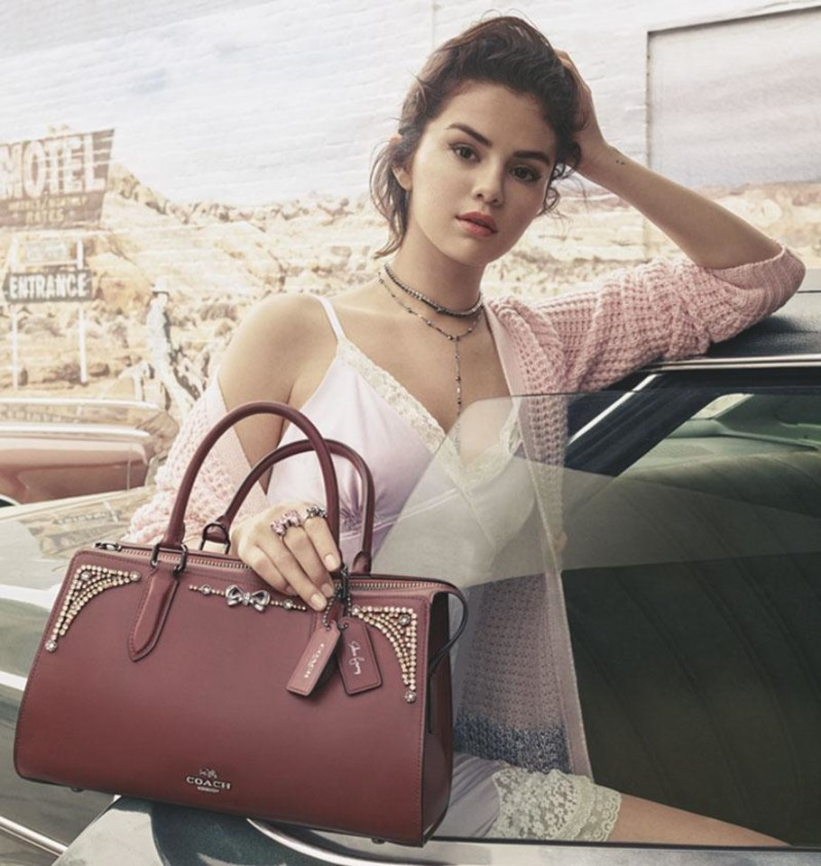 Photo - Coach x Selena is available for pre-order Aug.14 and in stores globally Aug. 31.