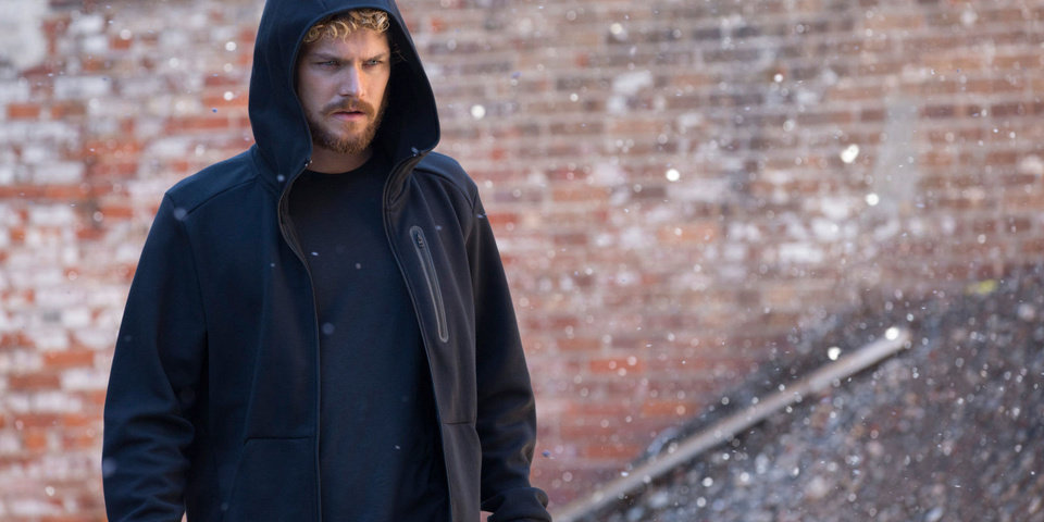 Photo - Finn Jones in Marvel's Iron Fist. [Netflix]