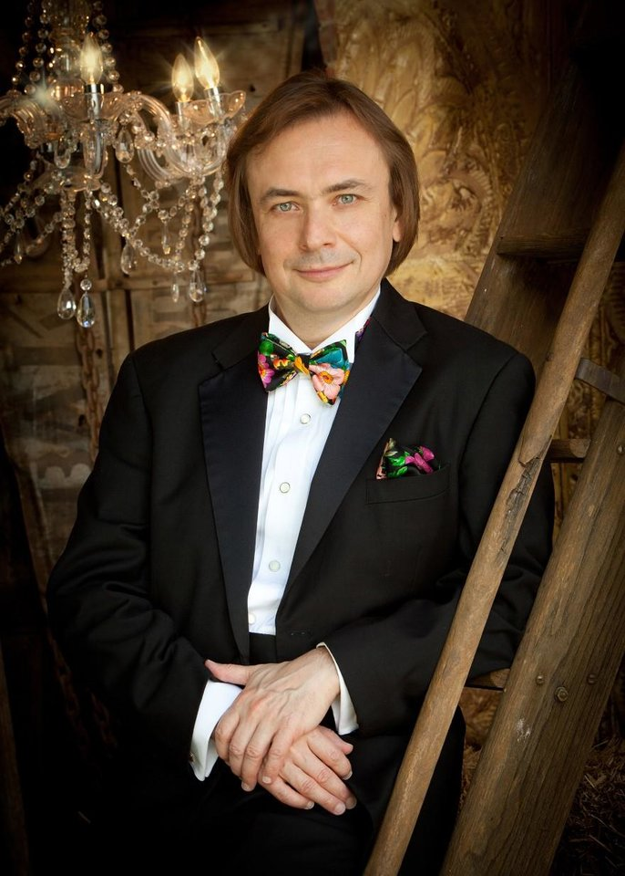 Photo -  World-class Russian pianist Valery Kuleshov, now a longtime Edmond resident and artist-in-residence at the University of Central Oklahoma, will perform in concert Jan. 14 as part of Virginia Campbell's Piano Artist Series. [Photo provided]