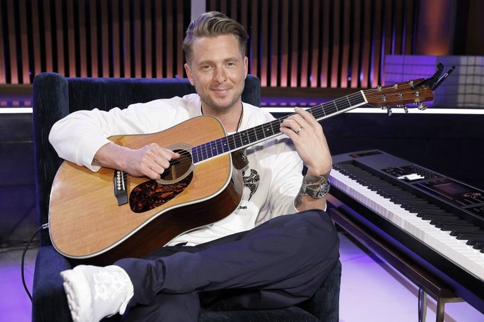 Photo - Ryan Tedder of OneRepublic [Photo by Trae Patton/NBC]