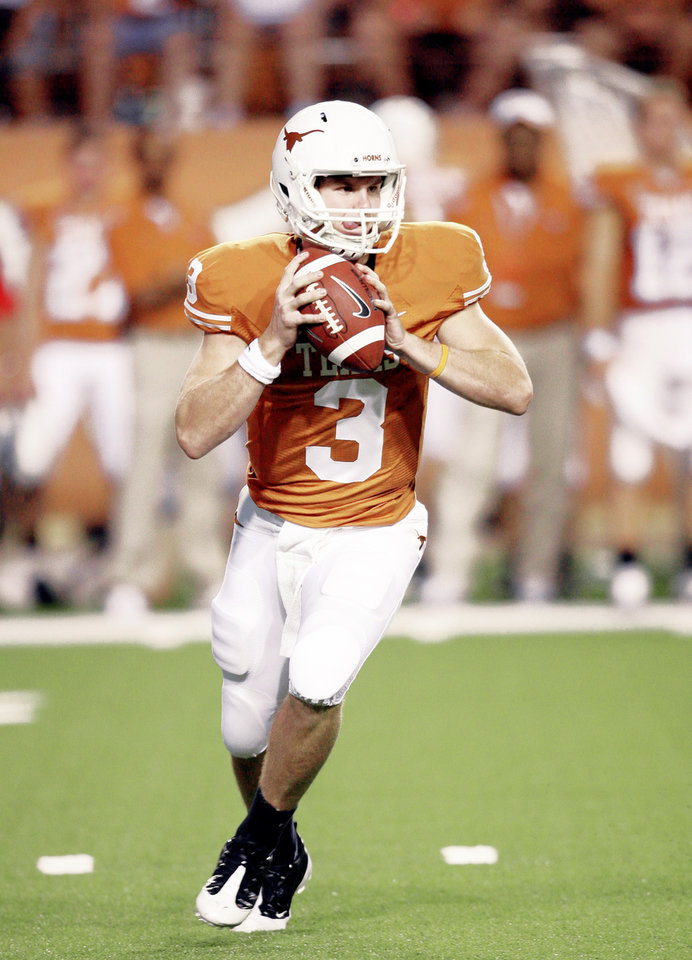 Garrett Gilbert Taking The Helm As Texas Qb Article Photos
