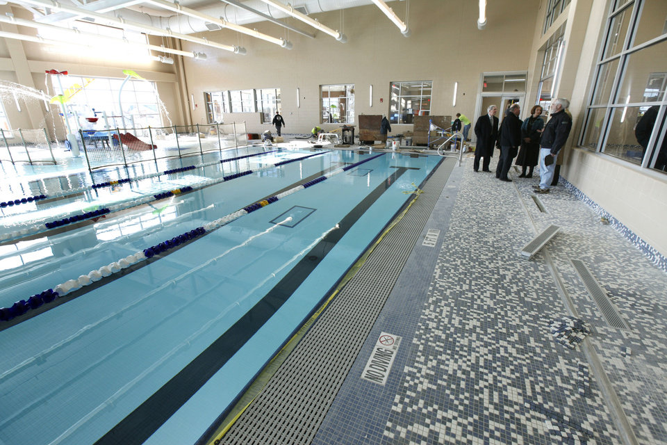High school notebook first event at new edmond pool set for Pool show okc