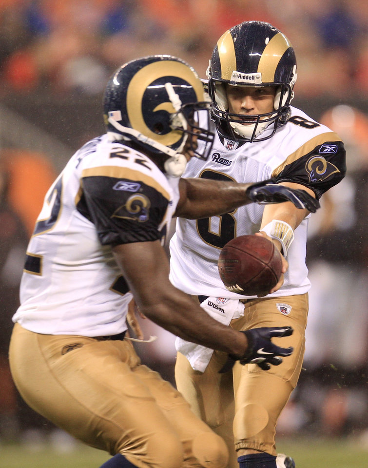 Sam Bradford To Start At Quarterback For St Louis Rams