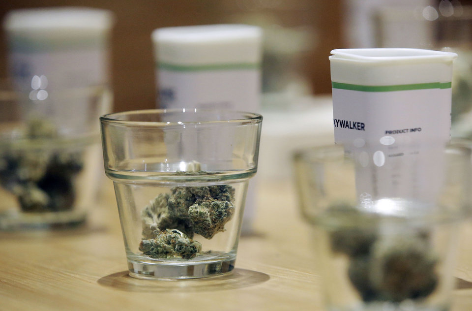 Photo - Medical marijuana in the workplace is here, and Oklahoma employers should take note. [AP photo]