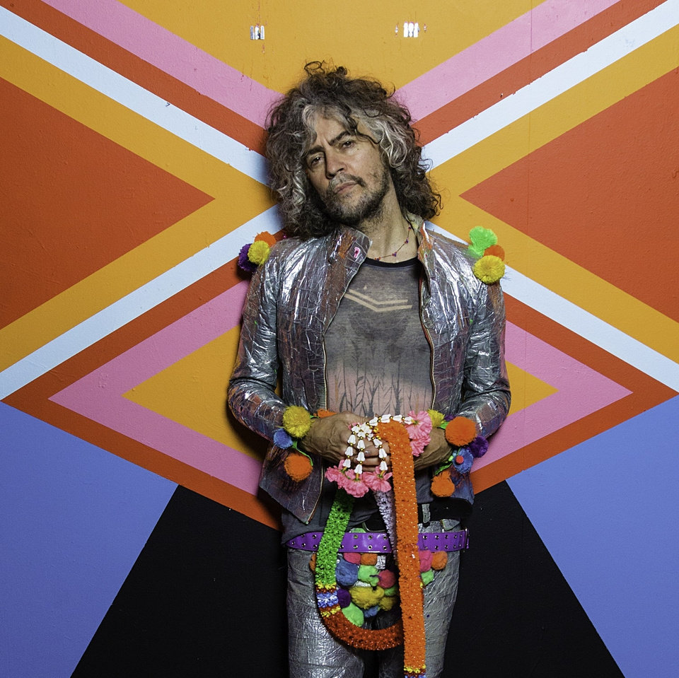 Photo -  Wayne Coyne is the frontman for The Flaming Lips [George Salisbury]