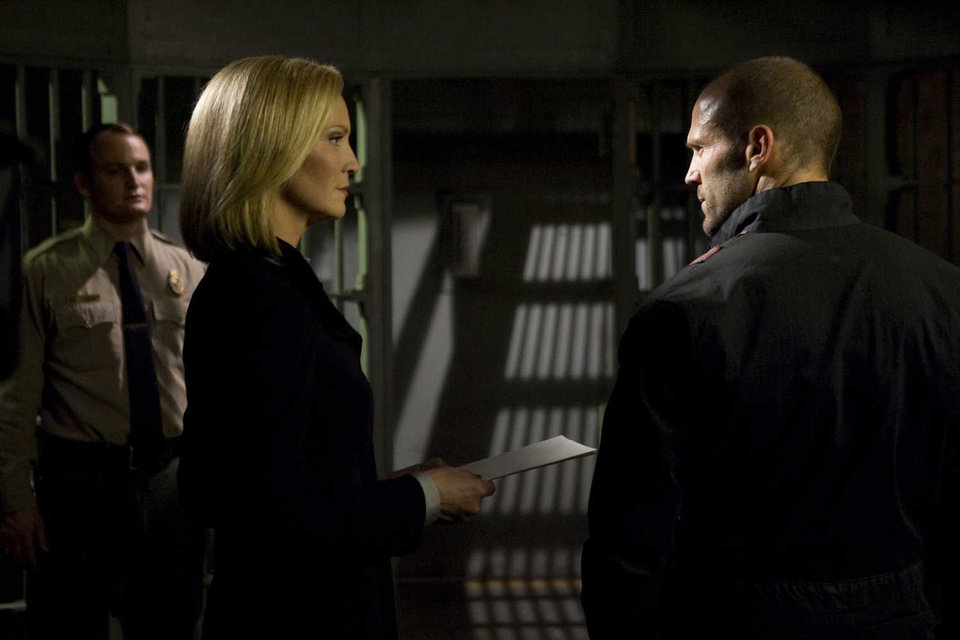 Photo - Joan Allen and Jason Statham share a scene in